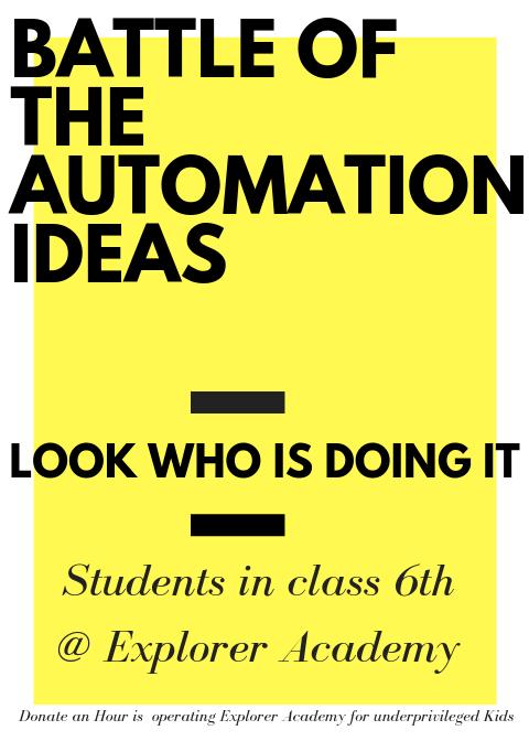 Automation Ideas